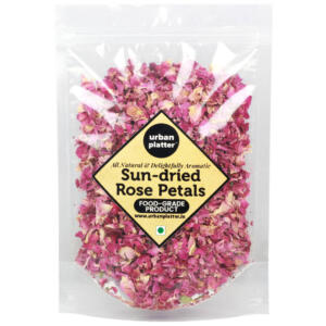 Urban Platter Sun Dried Rose Petals, 100g