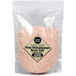 Urban Platter Pink Himalayan Rock Salt Powder, 500g