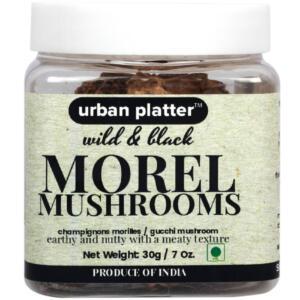 Urban Platter Dried Large Himalayan Morel Mushrooms (Gucchi Mushroom), 30g