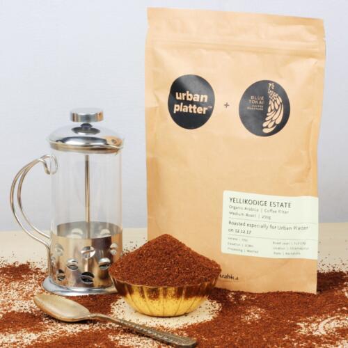 Urban Platter Tea & Coffee French Press, 350ml