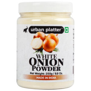 Urban Platter White Onion Powder, 250g / 8.8oz [All Natural, Premium Quality, Dehydrated]