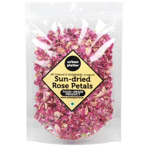 Urban Platter Sun Dried Rose Petals, 200g