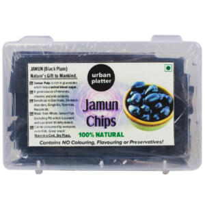 Urban Platter Sun Dried Jamun (Black Plum) Chips, 100g