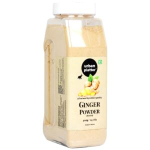 Urban Platter Dried Ginger Powder (Sunth) Shaker Jar, 400g