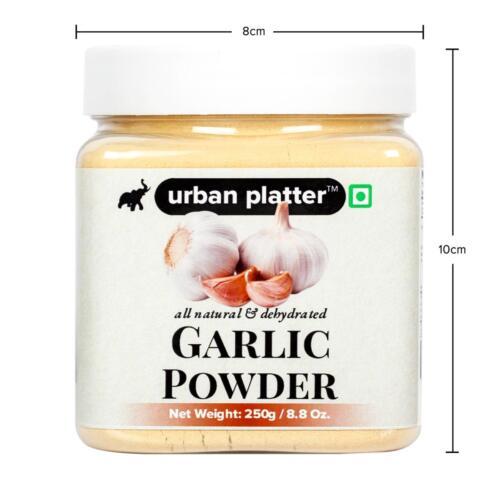 Urban Platter Garlic Powder, 250g [All Natural, Premium Quality, Dehydrated]