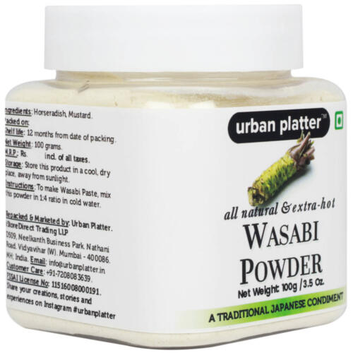 Urban Platter Pure Japanese Wasabi Powder, 100g