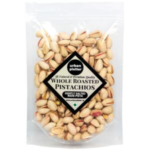 Urban Platter Whole Roasted Salted Pistachios (Pista), 1Kg