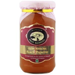 Kotgarh Fruit Bageecha Exotic Himachal Peach Preserve, 225g