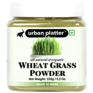 Urban Platter Organic Wheatgrass Powder, 150g [Premium Quality, Detox, Immunity Boost]