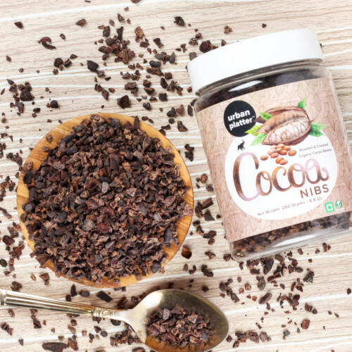 Urban Platter Cocoa Nibs, 150g [Unprocessed, Aromatic, Food of The Gods!]