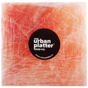 """Urban Platter Himalayan Pink Rock Salt Brick, 8"""" x 8"""" x 2"""" (4.5kg)"""