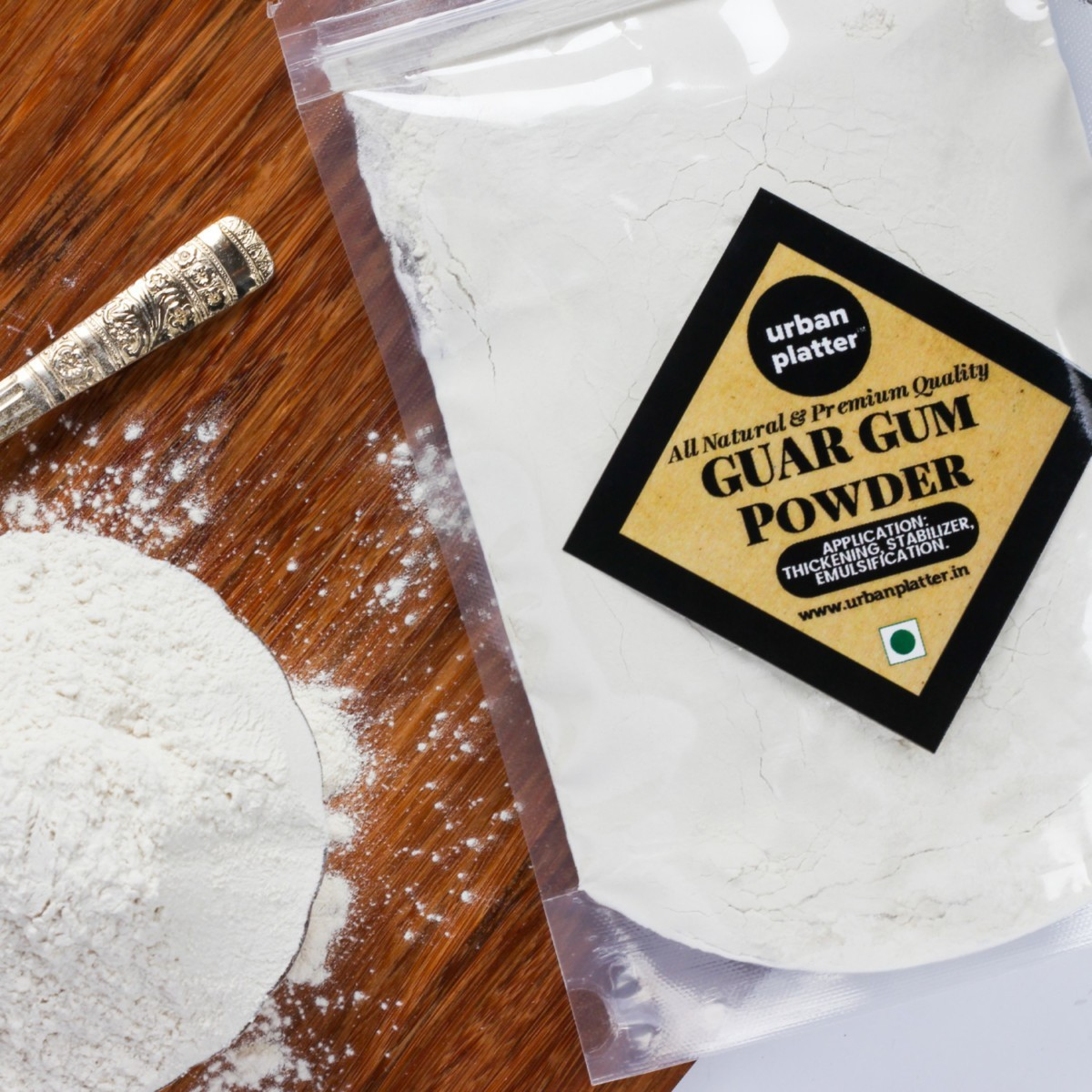 Urban Platter Guar Gum Powder, 1Kg (All Natural
