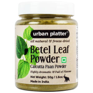Urban Platter Betel Leaf (Calcutta Paan) Powder, 50g [All Natural, Freeze-Dried & Full of Flavour]