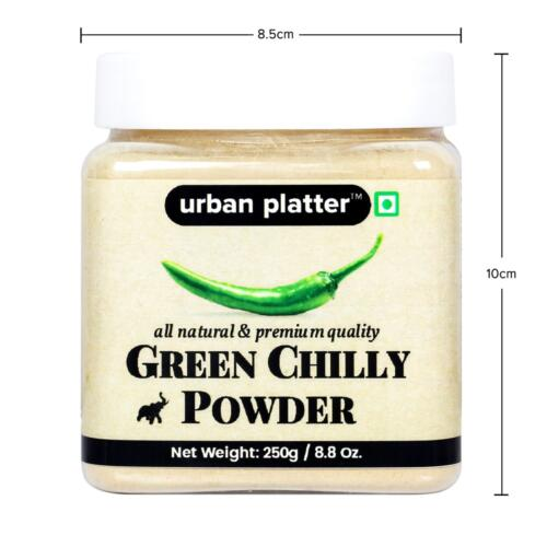 Urban Platter Dehydrated Green Chilly Powder, 250g