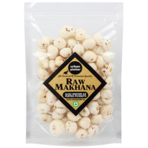 Urban Platter Puffed Fox Nuts (Unroasted Makhana), 200g