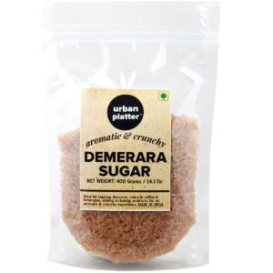 Urban Platter Aromatic & Crunchy Demerara Sugar, 400g