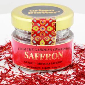 Urban Platter Pure Grade-I Kashmir Mongra Saffron, 1g