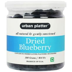 Urban Platter Dried Blueberry, 300g Jar [Imported from the USA]