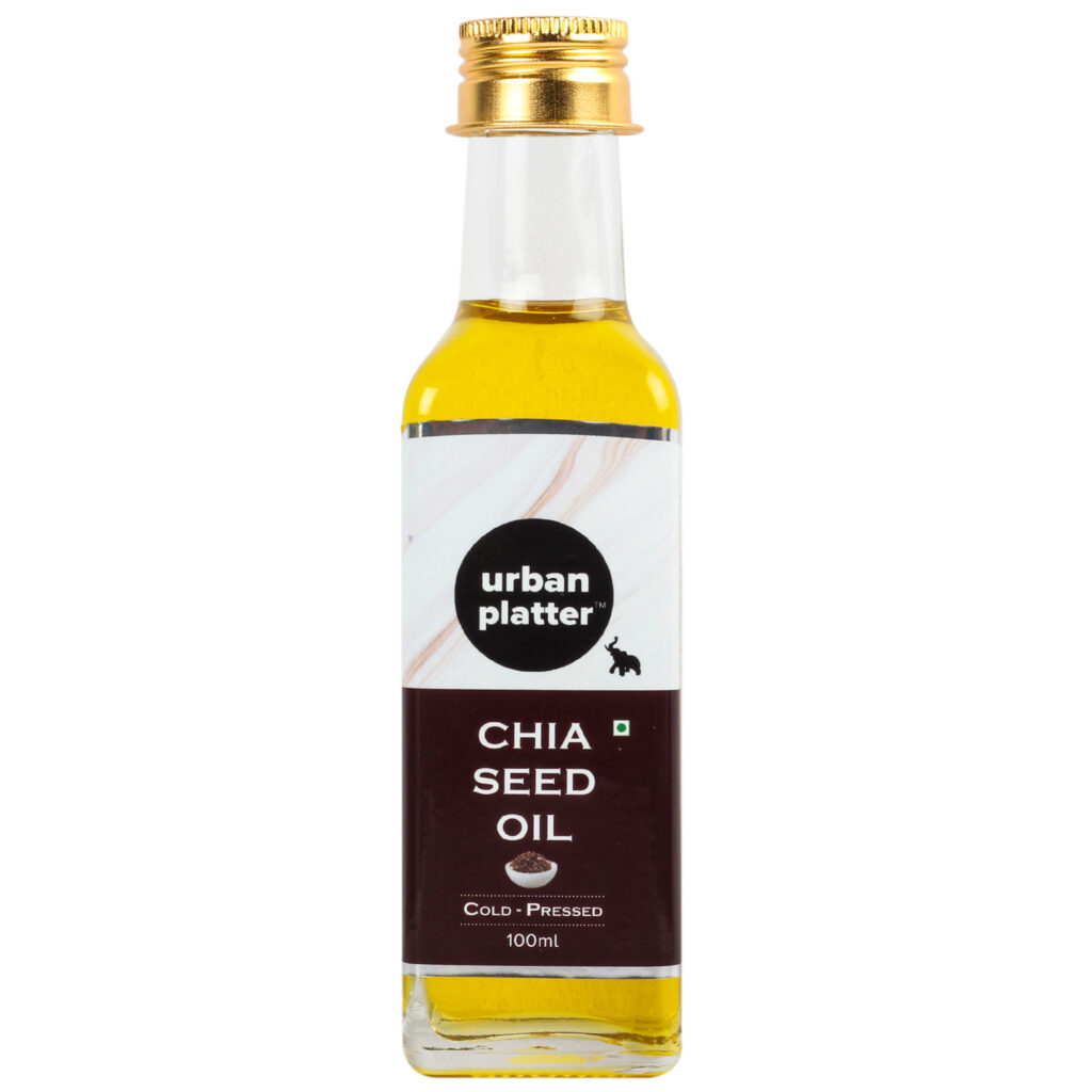 Urban Platter Cold Pressed Chia Oil, 100ml [Pure & All-natural]