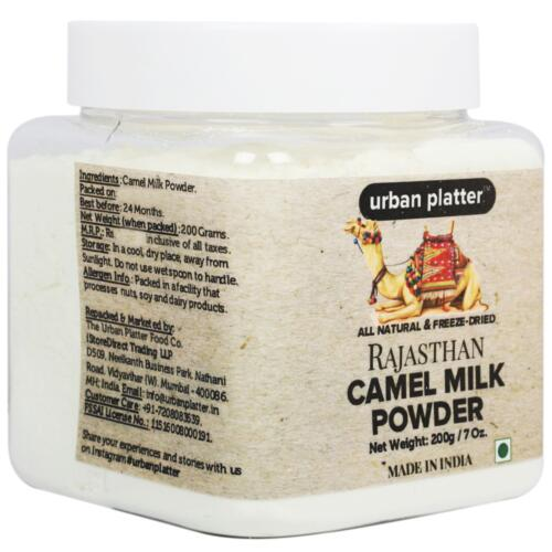 Urban Platter Freeze-Dried Camel Milk Powder, 200g [All Natural, Suitable for Lactose Intolerant, Gluten-Free Super Food]