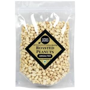 Urban Platter Roasted Unsalted Peanuts, 1Kg [Grade A Peanuts, Skin Removed]