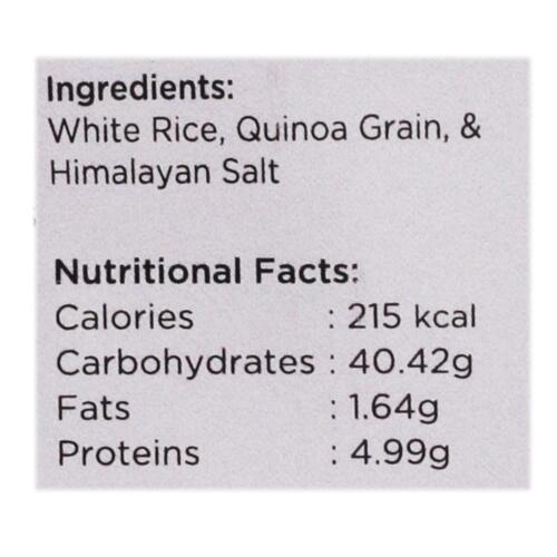 Urban Platter Organic Puffed White Rice & Quinoa Cakes, 100g