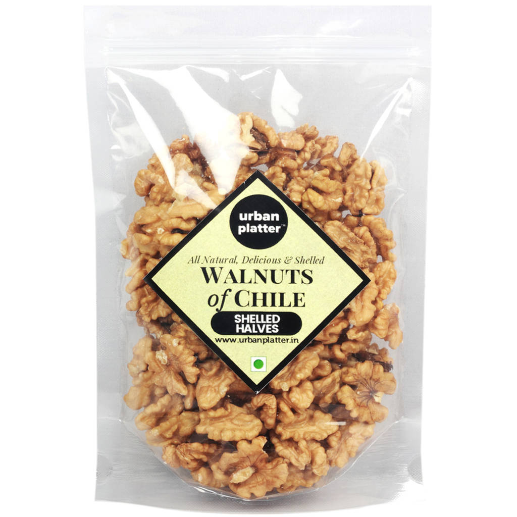 Urban Platter Large Chile Walnuts, Shelled Halves, 900g