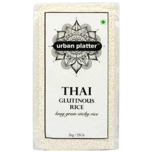 Urban Platter Thai Glutinous Rice, 2Kg [Exotic, Sweet & Sticky]