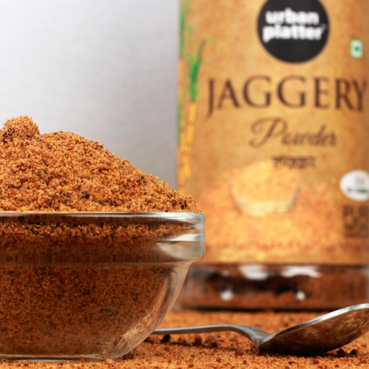 Urban Platter Jaggery Powder, 500g [Pure, Natural & Chemical Free]