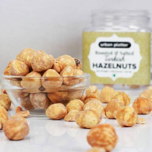 Urban Platter Roasted & Salted Turkish Hazelnuts, 150g