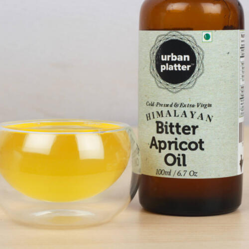 Urban Platter Himalayan Bitter Apricot Oil, 100ml [Cold-Pressed & Extra-Virgin]
