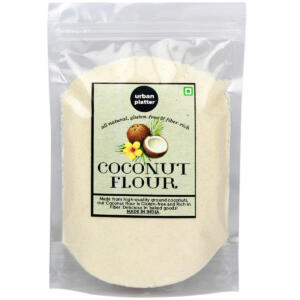 Urban Platter Coconut Flour, 1kg [Gluten-free, Fiber-rich, Paleo friendly]