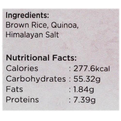 Urban Platter Organic Puffed Brown Rice & Quinoa Cakes, 125g (Pack of 2)
