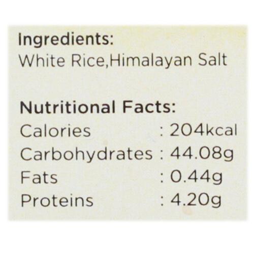 Urban Platter Organic Puffed White Rice Cakes, 125g (Pack of 2)