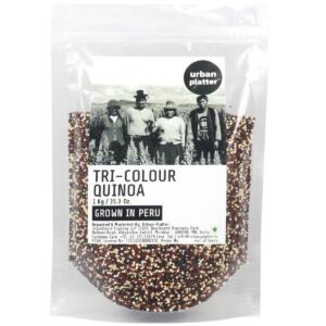 Urban Platter Tri-Colour Quinoa, 1kg [Grown in Peru]