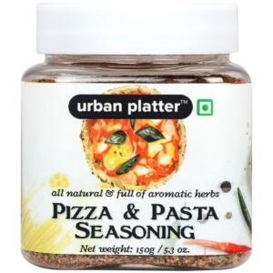 Urban Platter Pizza & Pasta Seasoning, 150g [Full of Aromatic Herbs & All-natural]