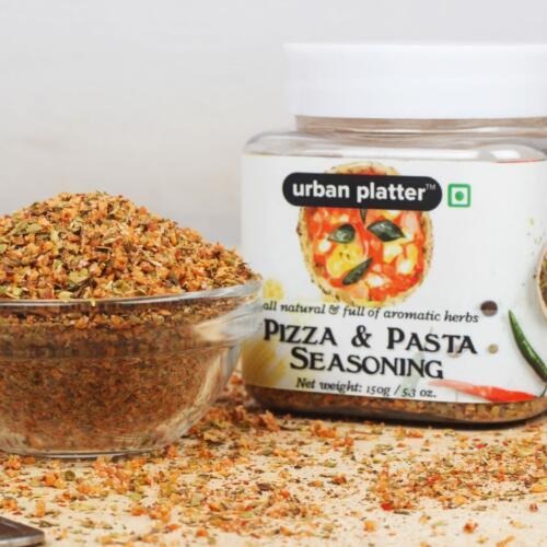 Urban Platter Pizza & Pasta Seasoning, 150g [Full of Aromatic Herbs & All-natural]