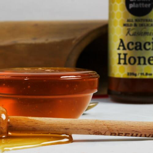 Urban Platter Kashmir Acacia Honey, 335g (Genuine Premium Quality Raw Acacia Honey from Kashmir Valley)