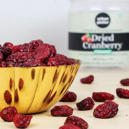 Urban Platter Dried Organic Cranberry, 200g [Good Source of Vitamin C]