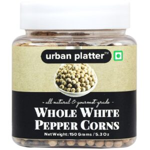 Urban Platter Whole White Peppercorns, 150g