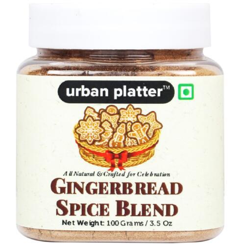 Urban Platter GingerBread Spice Blend, 100g [All Natural & Crafted for Celebration]