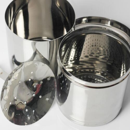 Urban Platter South-Indian Drip Style Stainless Steel Coffee Filter, 1 Pc [Makes Upto 600 ML Of Decoction]