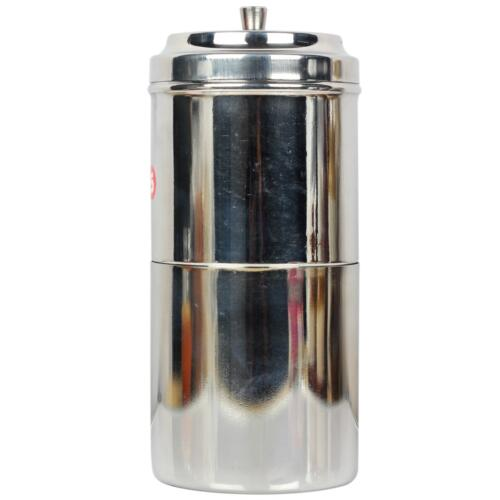 Urban Platter South-Indian Drip Style Stainless Steel Coffee Filter, 1 Pc [Makes Upto 200 ML Of Decoction]