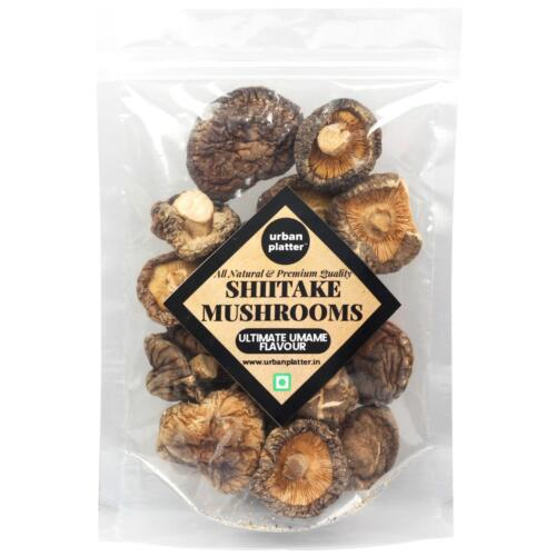Urban Platter Dried Shiitake Mushrooms, 300g