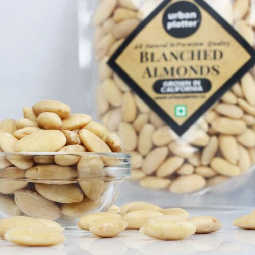 Urban Platter Blanched California Almonds, 400g