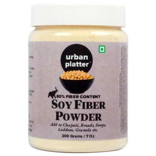 Urban Platter Soy Bean Fiber Powder, 200g [All Natural & Gluten-Free]