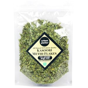 Urban Platter Kasoori Methi Flakes, 100g [All Natural & Premium Quality]