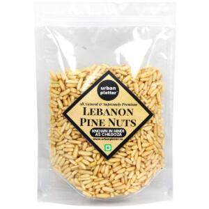 Urban Platter Lebanon Pine Nuts, 100g (Premium Quality Chilgoza)