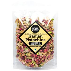 Urban Platter Whole Raw Shelled Pistachio (Pista), 1Kg