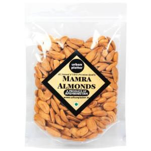 Urban Platter Bold Mamra Almonds, 400g